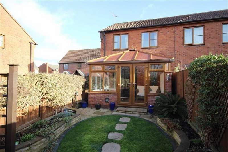 3 Bedrooms End Of Terrace House for sale in Holmoak Close, Walton Cardiff, Tewkesbury, Gloucestershire