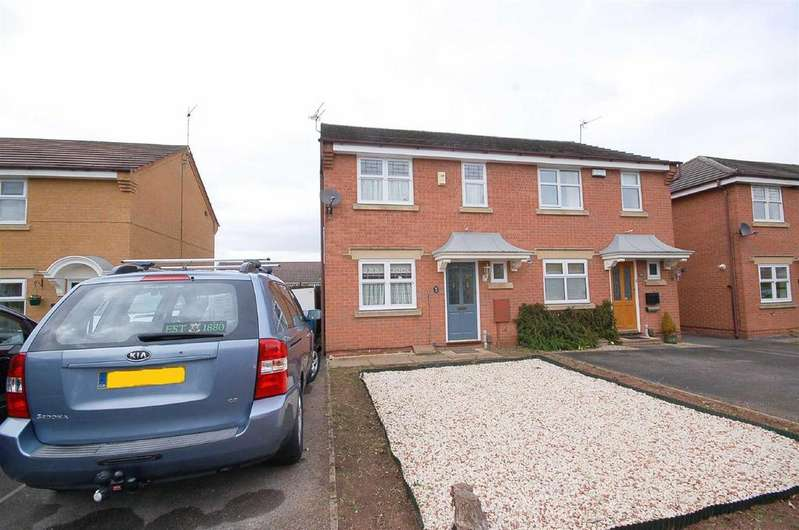 3 Bedrooms Semi Detached House for sale in Oxendale Close, West Bridgford, Nottingham