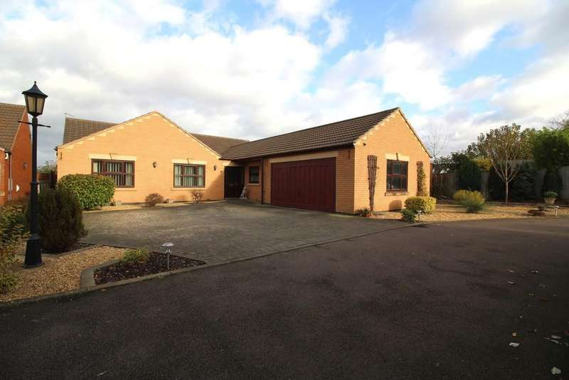 4 Bedrooms Detached Bungalow for sale in Quorndon Waters Court, Quorn