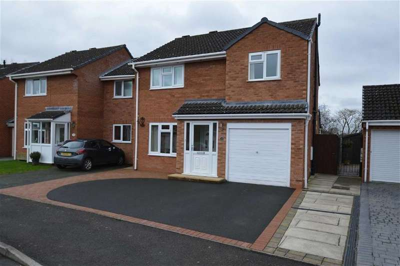 4 Bedrooms Detached House for sale in Barleyfields, Wem