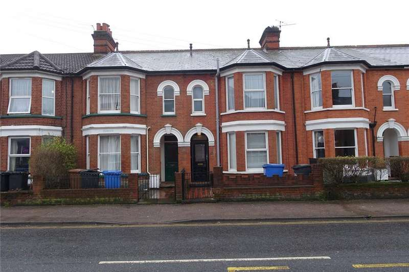 4 Bedrooms Terraced House for sale in Foxhall Road, Ipswich, Suffolk, IP3