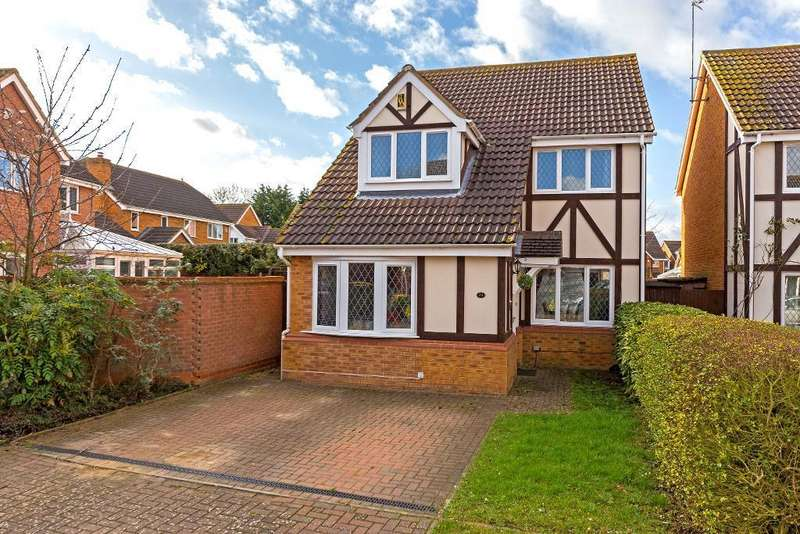 3 Bedrooms Detached House for sale in Portobello Close, Barton Le Clay, Bedfordshire, MK45 4SN