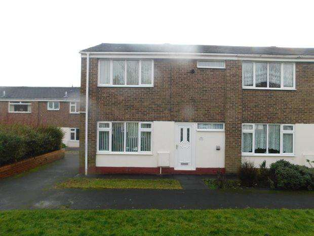 2 Bedrooms Semi Detached House for rent in YORK SQUARE, SHILDON, BISHOP AUCKLAND