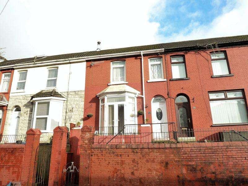 2 Bedrooms Terraced House for sale in King Edward Street Blaengarw Bridgend CF32 8ND