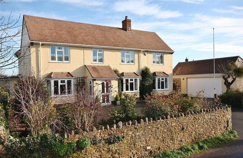 5 Bedrooms Detached House for sale in Goose Lane, Broadway, Ilminster, Somerset, TA19
