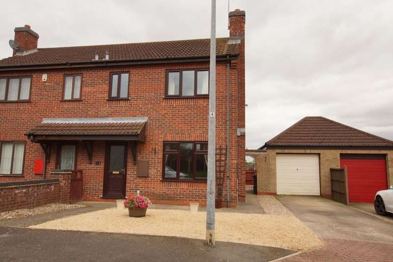 3 Bedrooms Semi Detached House for sale in Harrys Dream, Broughton, Brigg, DN20