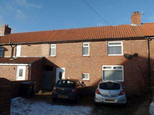 3 Bedrooms Terraced House for sale in BURNS TERRACE, SHOTTON, PETERLEE AREA VILLAGES