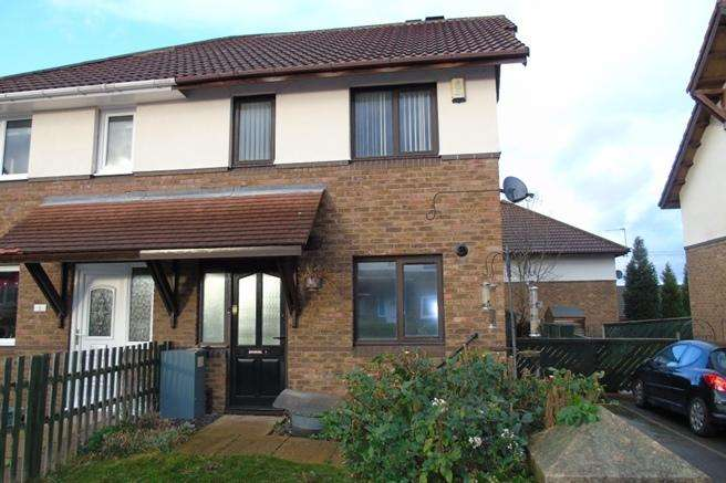 2 Bedrooms Semi Detached House for sale in 3 Chilwell Mews, Athersley North, Barnsley, S71 3NY
