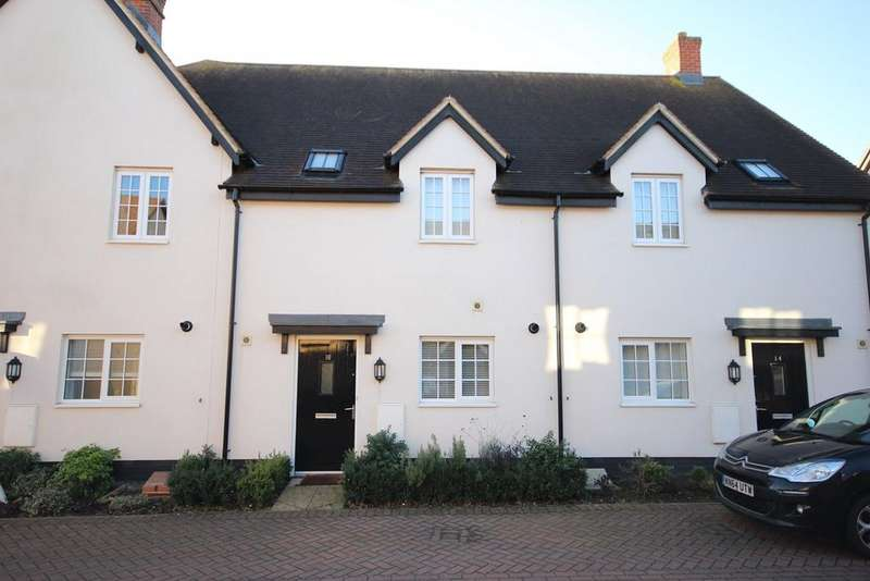 3 Bedrooms Terraced House for sale in Pine Walk, Silsoe, MK45