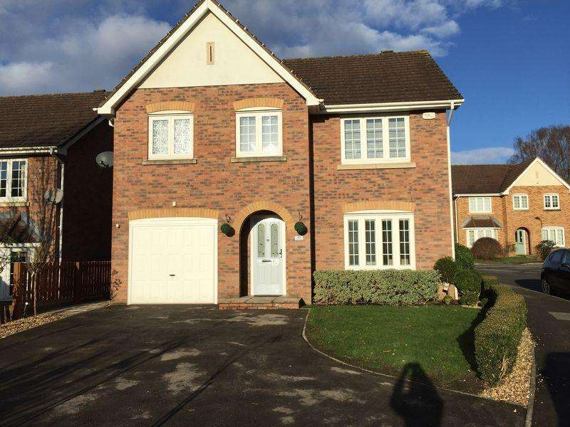 4 Bedrooms Detached House for rent in St Lawrence Park, CHEPSTOW, Monmouthshire