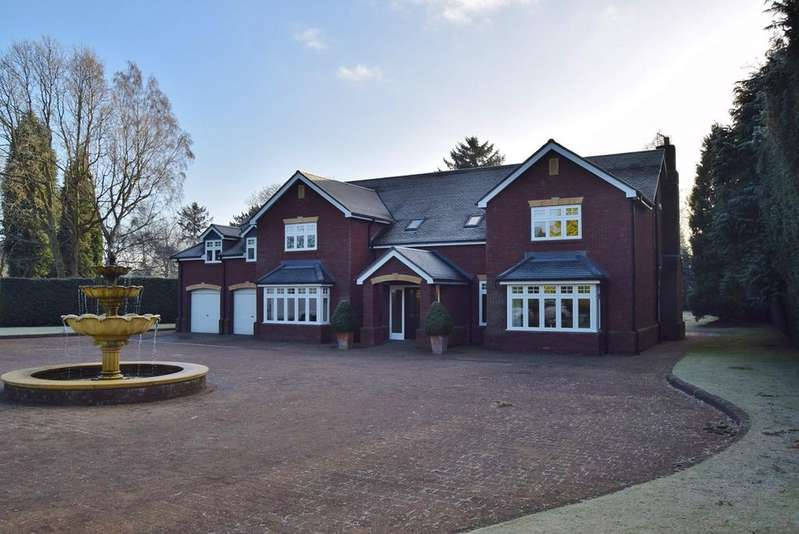 6 Bedrooms Detached House for sale in Kingsway, Darras Hall, Ponteland, NE20