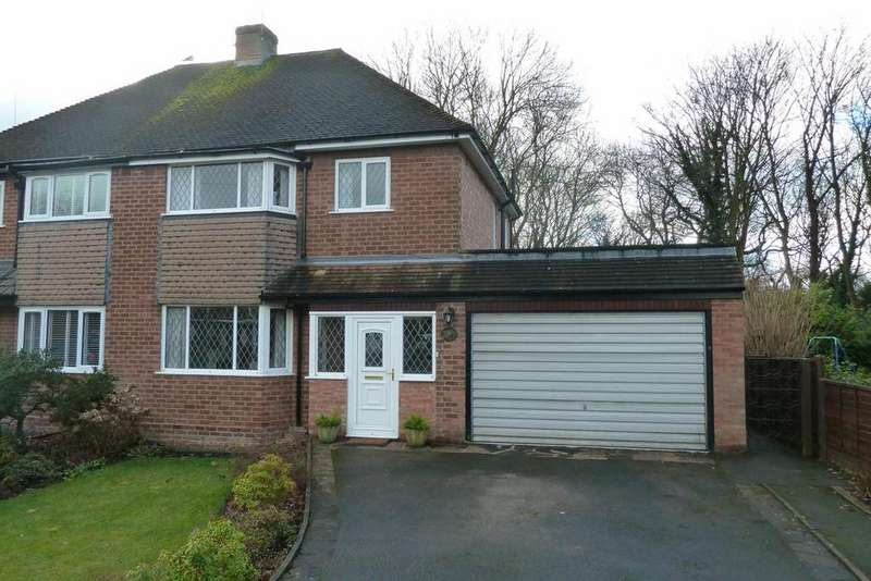 3 Bedrooms Semi Detached House for sale in Uplands Drive, Finchfield, Wolverhampton, WV3
