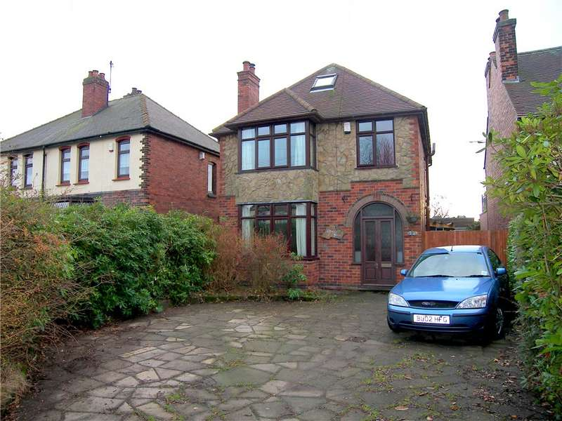 3 Bedrooms Detached House for sale in Mansfield Road, South Normanton, Alfreton, Derbyshire, DE55