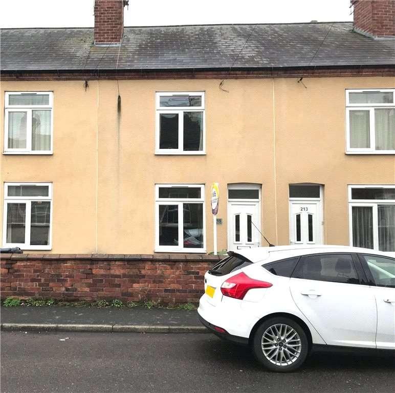 3 Bedrooms Terraced House for sale in Nottingham Road, Belper, Derbyshire, DE56
