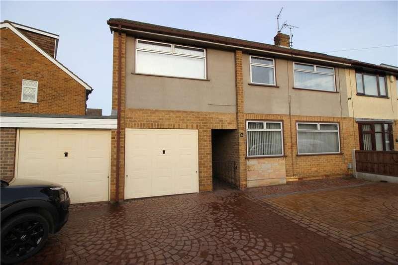 3 Bedrooms Semi Detached House for sale in Croft Close, Spondon, Derby, Derbyshire, DE21