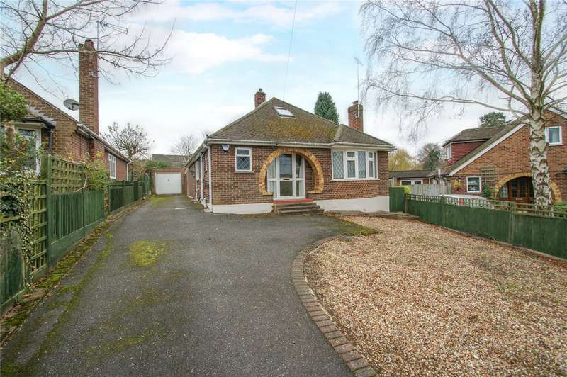 3 Bedrooms Detached Bungalow for sale in Summit Close, Finchampstead, Wokingham, Berkshire, RG40