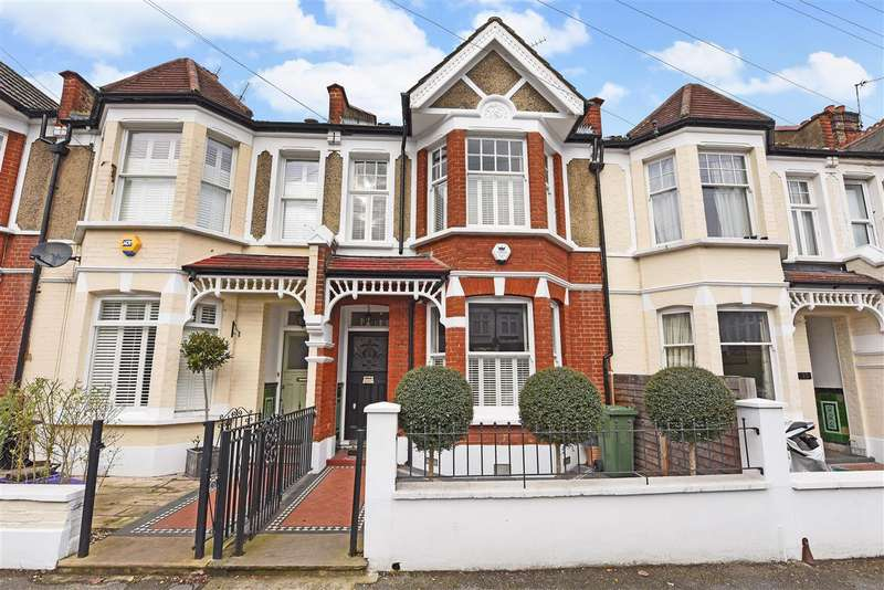 4 Bedrooms Terraced House for sale in Stuart Road, Wimbledon Park