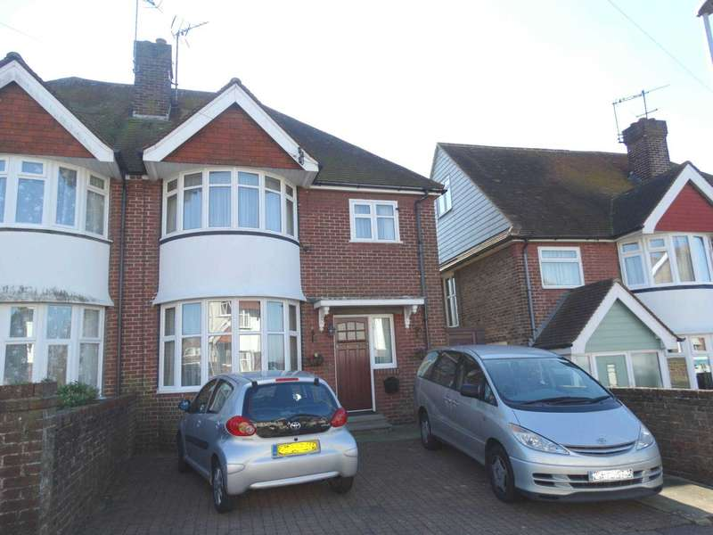 3 Bedrooms Semi Detached House for sale in Harding Avenue, Eastbourne