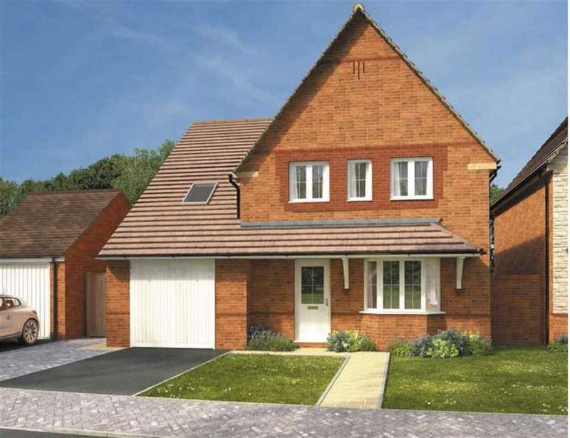 4 Bedrooms Detached House for sale in Meadow View, Watchfield, Oxfordshire