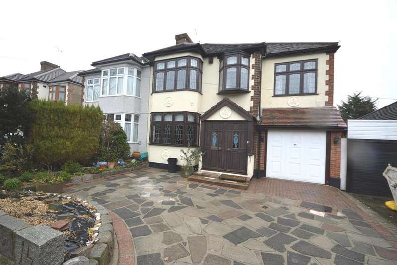 4 Bedrooms Semi Detached House for sale in Beltinge Road, Harold Wood, Romford, RM3