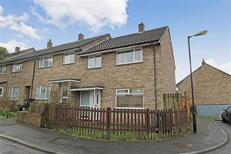 3 Bedrooms End Of Terrace House for sale in Caldicott Close, Lawrence Weston, Bristol