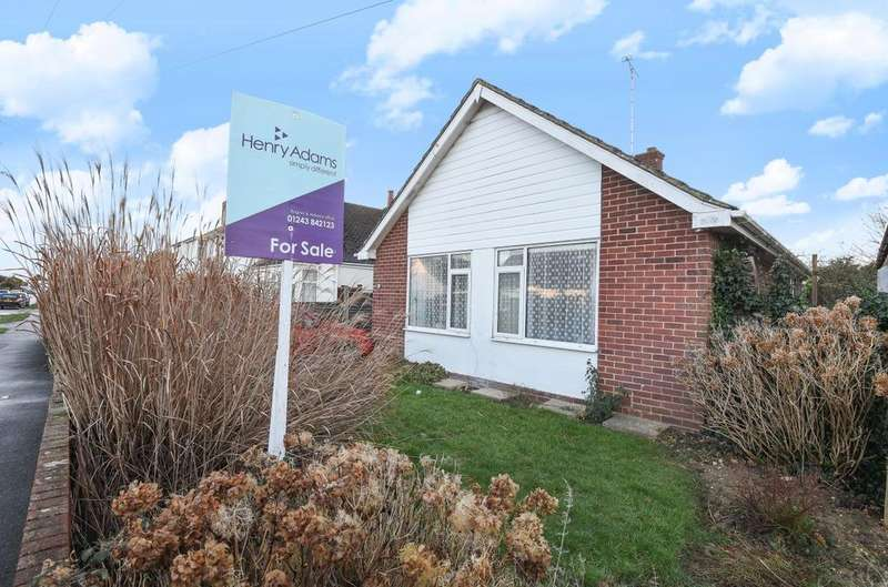 2 Bedrooms Detached Bungalow for sale in Carlton Avenue, Rose Green, Bognor Regis, PO21