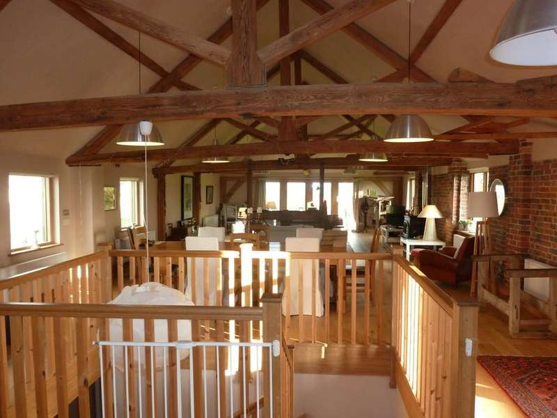 4 Bedrooms Detached House for rent in Tillingham Lane, Peasmarsh, Nr Rye, East Sussex TN31 6XG