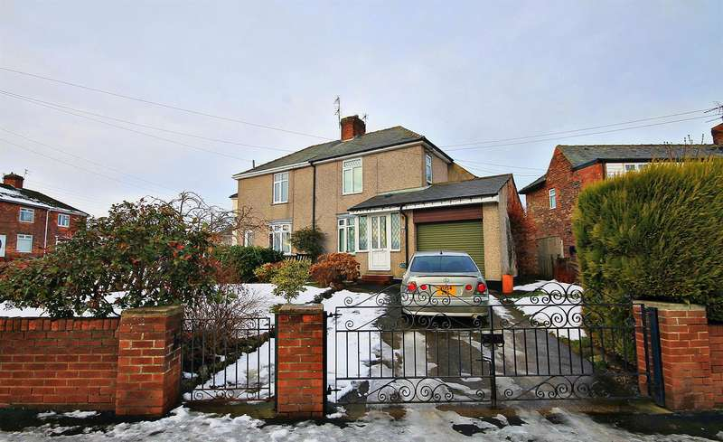 3 Bedrooms Semi Detached House for sale in Woodland Crescent, Kelloe, Durham