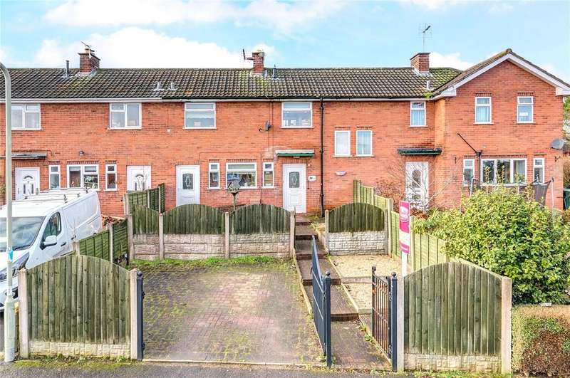 2 Bedrooms Terraced House for sale in Rhea Hall Estate, Highley, Bridgnorth, Shropshire