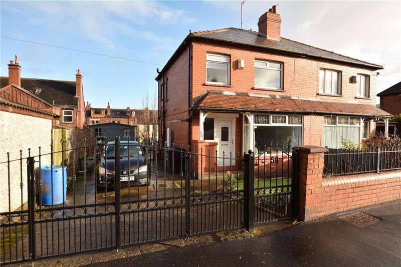 3 Bedrooms Semi Detached House for sale in Kirkstall Mount, Leeds, West Yorkshire