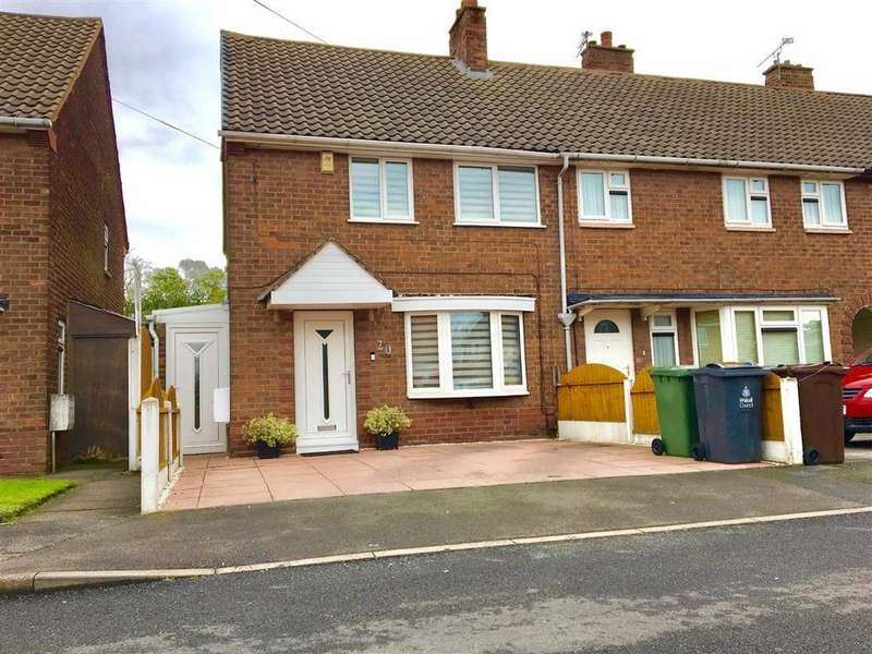 2 Bedrooms End Of Terrace House for sale in Odell Crescent, Bloxwich, Walsall