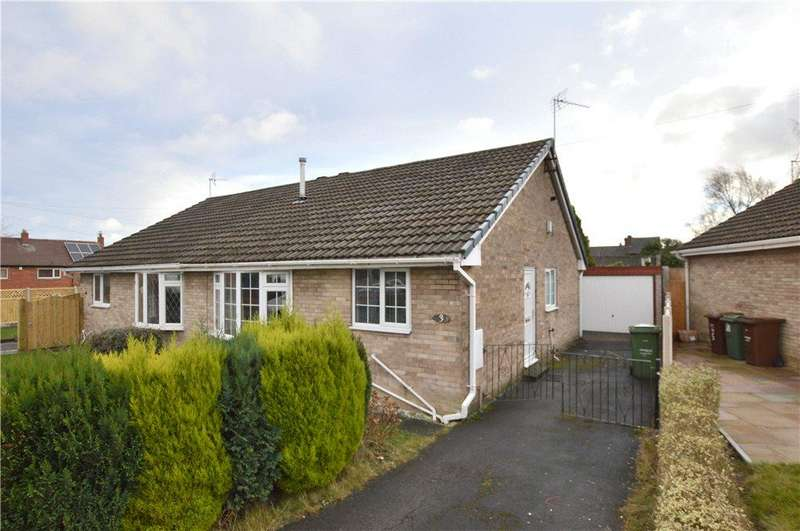2 Bedrooms Semi Detached Bungalow for sale in Dunstan Close, Ossett, West Yorkshire