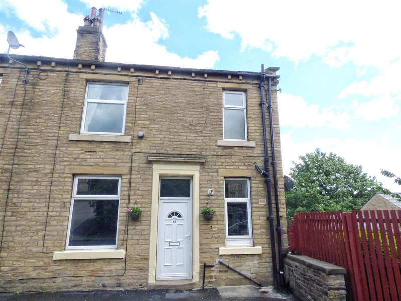 2 Bedrooms Terraced House for sale in Fairview Terrace, Lee Mount, HALIFAX, West Yorkshire, HX3