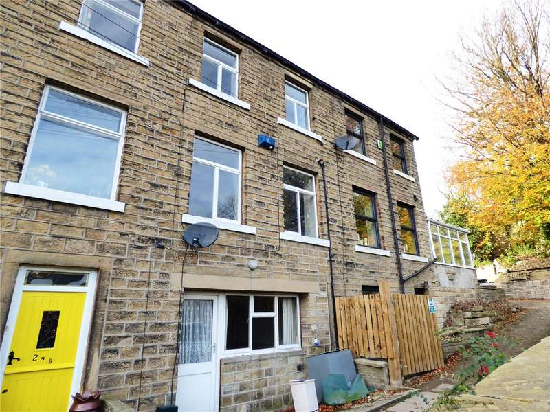 3 Bedrooms Terraced House for sale in Huddersfield Road, Thongsbridge, Holmfirth, West Yorkshire, HD9