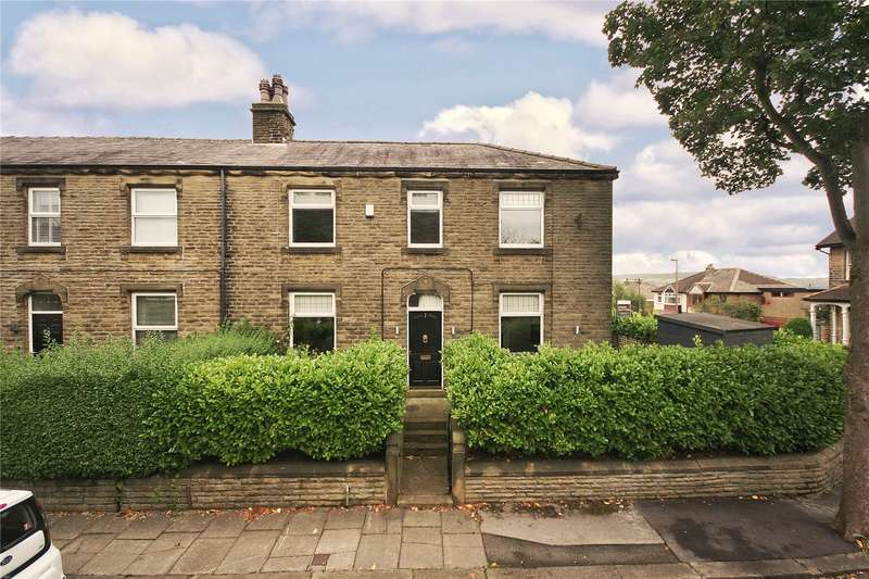 4 Bedrooms Semi Detached House for sale in Crescent Road, Netherton, Huddersfield, West Yorkshire, HD4