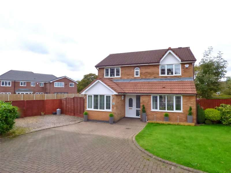 4 Bedrooms Detached House for sale in Midgley Drive, Rochdale, Lancashire, OL16