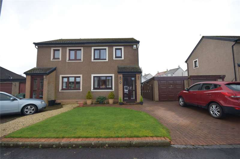 2 Bedrooms Semi Detached House for sale in Abbots Way, Ayr, South Ayrshire, KA7