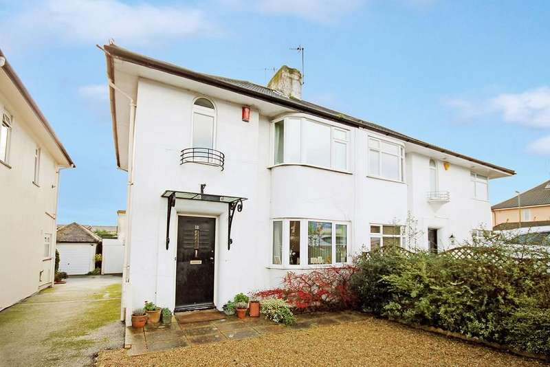 3 Bedrooms Semi Detached House for sale in Old Shoreham Road, Lancing