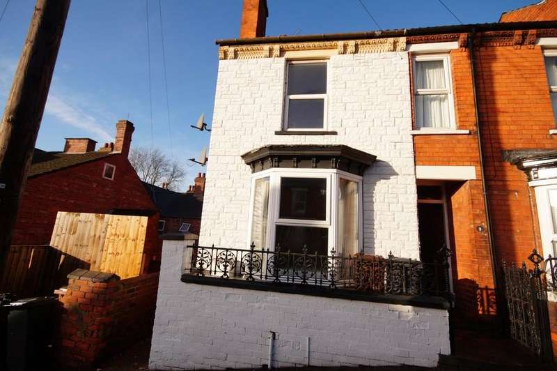 2 Bedrooms End Of Terrace House for sale in Laceby Street, Lincoln