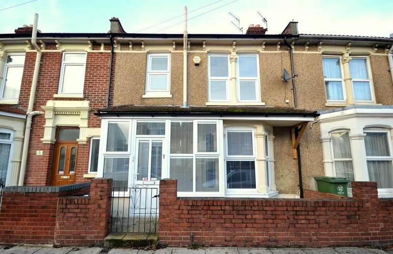 3 Bedrooms Terraced House for sale in Langstone Road, Baffins, Portsmouth
