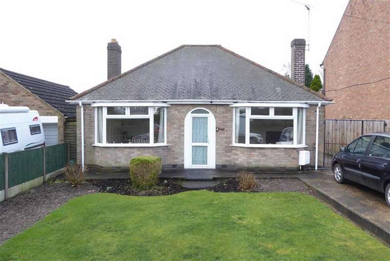 2 Bedrooms Detached Bungalow for sale in Leicester Road, Markfield