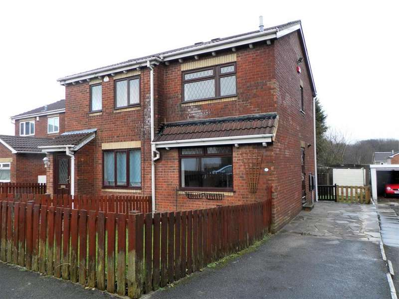 2 Bedrooms Semi Detached House for sale in Loweswater Avenue, Woodside, Bradford, BD6 2TH