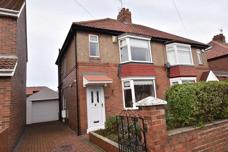 3 Bedrooms Semi Detached House for sale in Wearmouth Drive, Off Newcastle Road