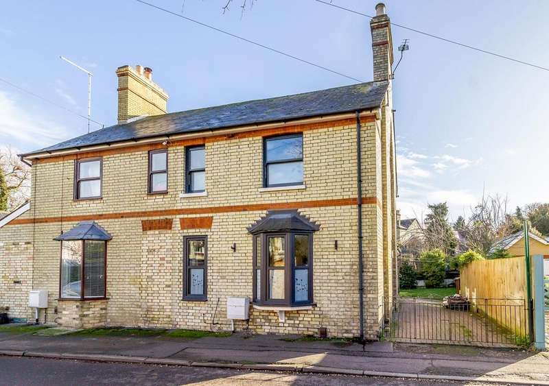 3 Bedrooms Semi Detached House for sale in Mill Road, ROYSTON, SG8