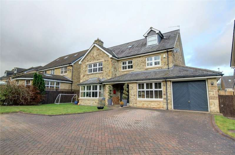 4 Bedrooms Detached House for sale in The Paddock, Waterhouses, Durham, DH7