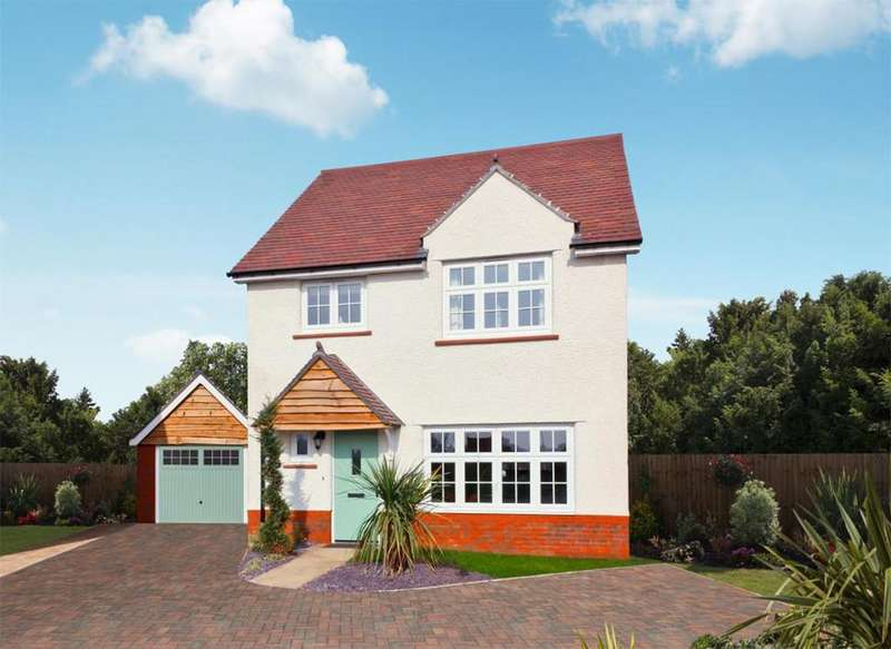 4 Bedrooms Detached House for sale in The Stratford, Stanbury Meadows