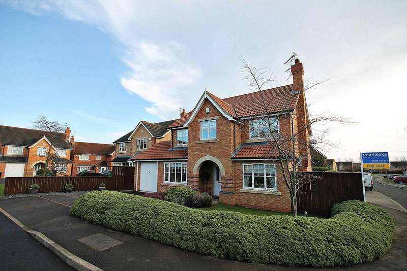 5 Bedrooms Detached House for sale in Manor Road, Willington, Crook