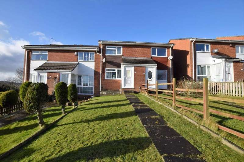2 Bedrooms Terraced House for sale in Girvan Close, East Stanley