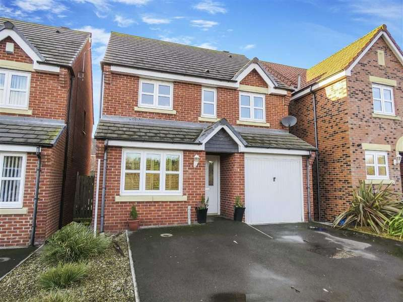 3 Bedrooms Detached House for sale in Ladyburn Way, Hadston, Morpeth