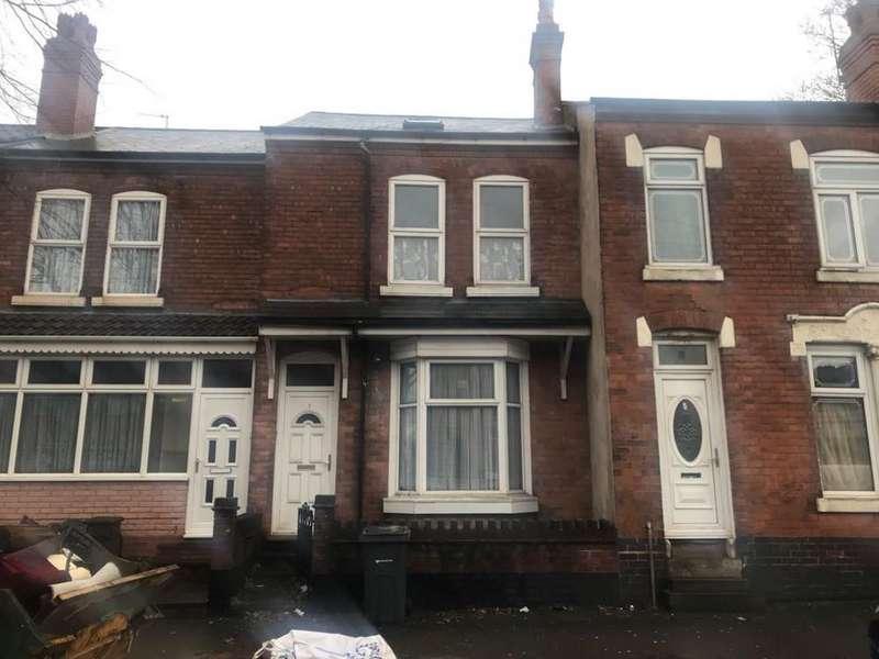 9 Bedrooms Terraced House for rent in Dora Road, Small Heath, 9 Bedroom HMO